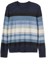 Gap Stripe roll-neck sweater