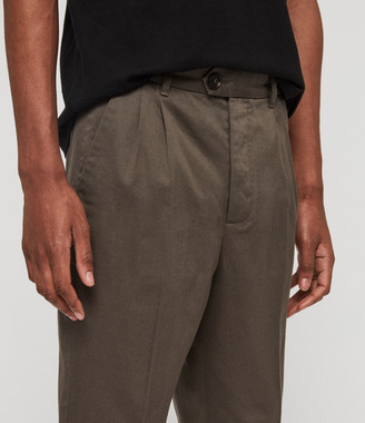 AllSaints Salco Cropped Slim Chinos