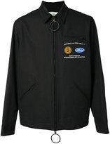 Off-White uniform zipped jacket