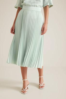 Seed Heritage Textured Pleat Skirt