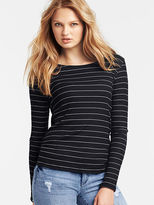 Victoria's Secret Cowl-back Long-sleeve Tee