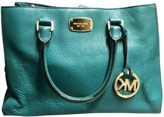Michael Kors Sutton Green Leather Handbags