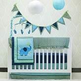 Pam Grace Creations Zig Zag Elephant Mix & Match 10 Piece Crib Bedding,