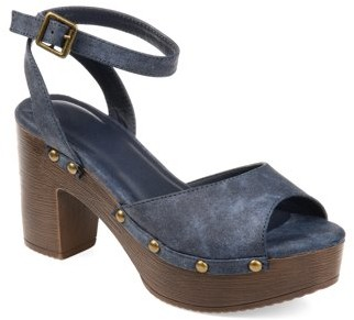 Brinley Co. Womens Lightweight Ankle Strap Clog