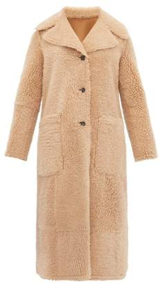 Joseph Maybelle Reversible Shearling Coat - Womens - Camel