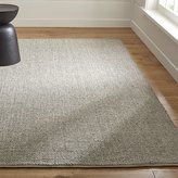 Crate & Barrel Jasper Taupe Wool-Blend Rug