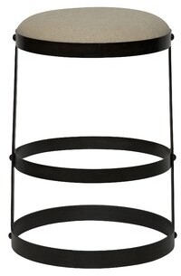 "Noir Dior 26"" Bar Stool"