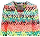 Milly Cropped Jacquard Jacket