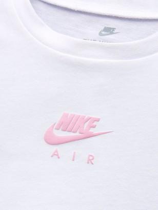 Nike Infant Girl Short SleeveT-shirt - White