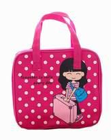 Black Temptation Lovely Lunch Tote Bag Reusable Lunch Bag Kids/Students Picnic Bag