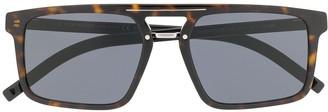 Christian Dior Aviator Frame Tinted Sunglasses