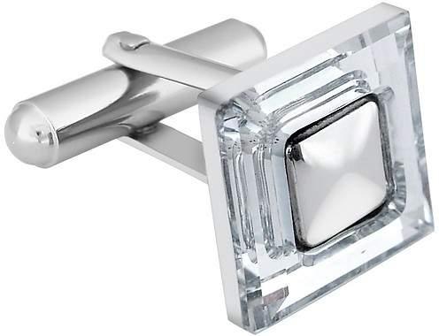 Forzieri Square Crystal CuffLinks
