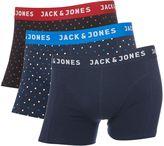 Jack & Jones 3 Pack Jacsmall Dots Trunks