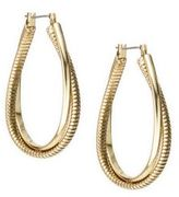 Diane von Furstenberg Midnight Kiss Color Hoop Earrings/1.25