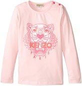 Kenzo Ania T-Shirt (Toddler) - Old Pink - 3 Years
