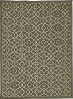 Waverly Lovely Latice Jute Rectangular Rug