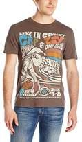 Buffalo David Bitton Men's Nacop Short Sleeve Psychedelic Graphic T-Shirt