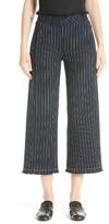 Alexander Wang Women's Stripe Burlap Crop Pants