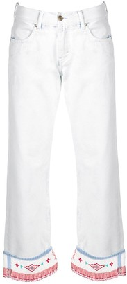 Alanui Low-Rise Straight Trousers