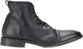 John Varvatos worn-look ankle boots