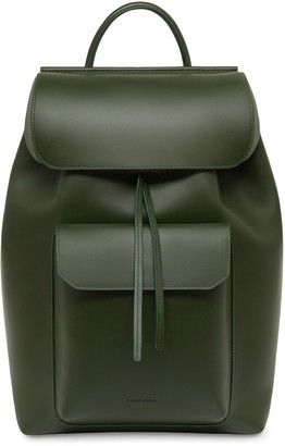 Mansur Gavriel Calf Technical Backpack - Moss