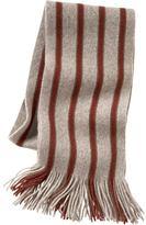 Vertical striped scarf