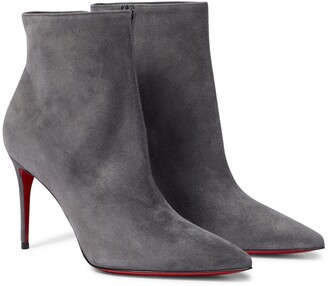 Christian Louboutin So Kate 85 suede ankle boots
