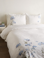 Melange Home Hydrangea Cotton Duvet Set