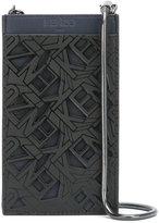 Kenzo Flying phone holder - women - Polyurethane/Cotton/Polyamide/Leather - One Size