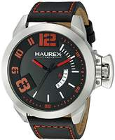 Haurex Italy Men's 6A509URN Storm Analog Display Quartz Black Watch