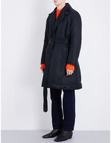 Calvin Klein 205w39nyc Belted Padded Shell Coat