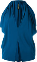 Plein Sud Jeans slit detail blouse