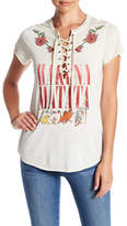 Freeze Lion King Lace-Up Graphic Tee