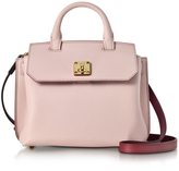 MCM Milla Pale Mauve Park Avenue Leather Small Crossbody