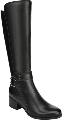Naturalizer Tall Shaft Leather Boots - Dane Wide