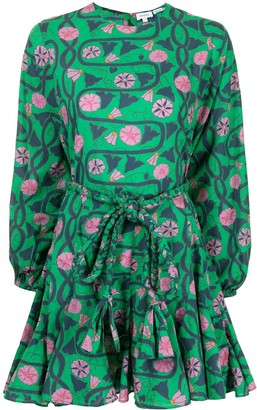 Rhode Resort Ella floral-print dress