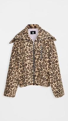 Natasha Zinko Duo Polyester Zip Jacket