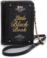 Betsey Johnson Little Black Book Clutch