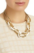 Lafayette 148 New York Women's Libre Link Statement Necklace
