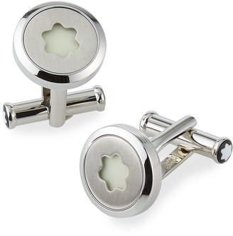 Montblanc Men's StarWalker Stainless Steel Emblem Cufflinks
