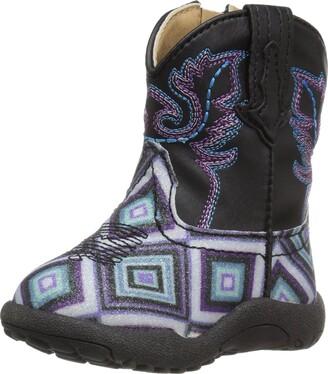 Roper Girls' Glitter Diamonds Western Boot