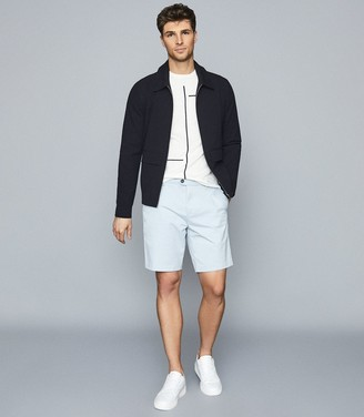Reiss Wicket - Casual Chino Shorts in Soft Blue