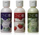 CND Treatments Scentsations Lotion Nail Polish, Collection Charmed 2013 Trio