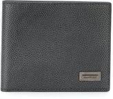 Salvatore Ferragamo logo plaque bi-fold wallet - men - Calf Leather - One Size