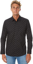 Quiksilver Everyday Mini Motif Ls Mens Shirt Black