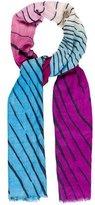 Diane von Furstenberg Wool & Silk-Blend Printed Scarf