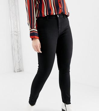 Junarose skinny jean in black