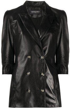 Simonetta Ravizza Fitted Double-Breasted Jacket