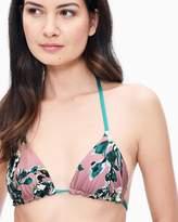Splendid Watercolor Floral Reversible Triangle Bikini Bra