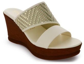 Italian Shoemakers Andi Wedge Sandal